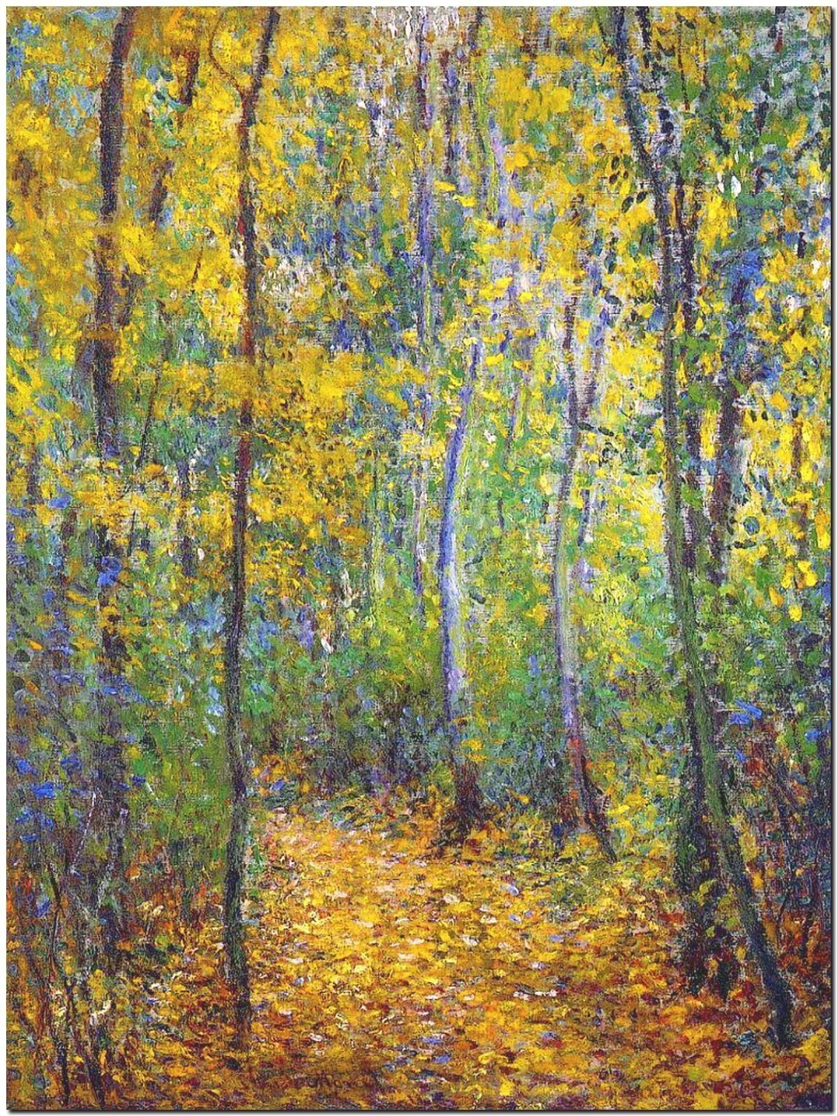 178974 CLAUDE MONET WOOD LANE DECOR WALL PRINT POSTER CA
