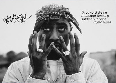 PRINT IMAGE PHOTO -SW0 NEW TUPAC SHAKUR 2PAC POSTER GIVES THE FINGER