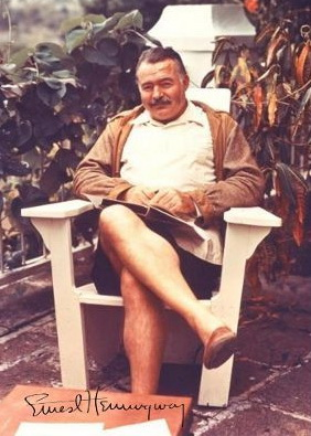 184157 Ernest Hemingway Author Signed Decor Wand Drucken POSTER FR