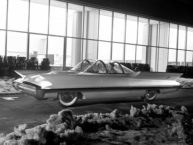 197455 1955 Lincoln Futura Concept Car Decor Wall Print Poster Ebay
