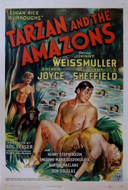 207591 Tarzan and the Amazons Movie Decor Wall PRINT US