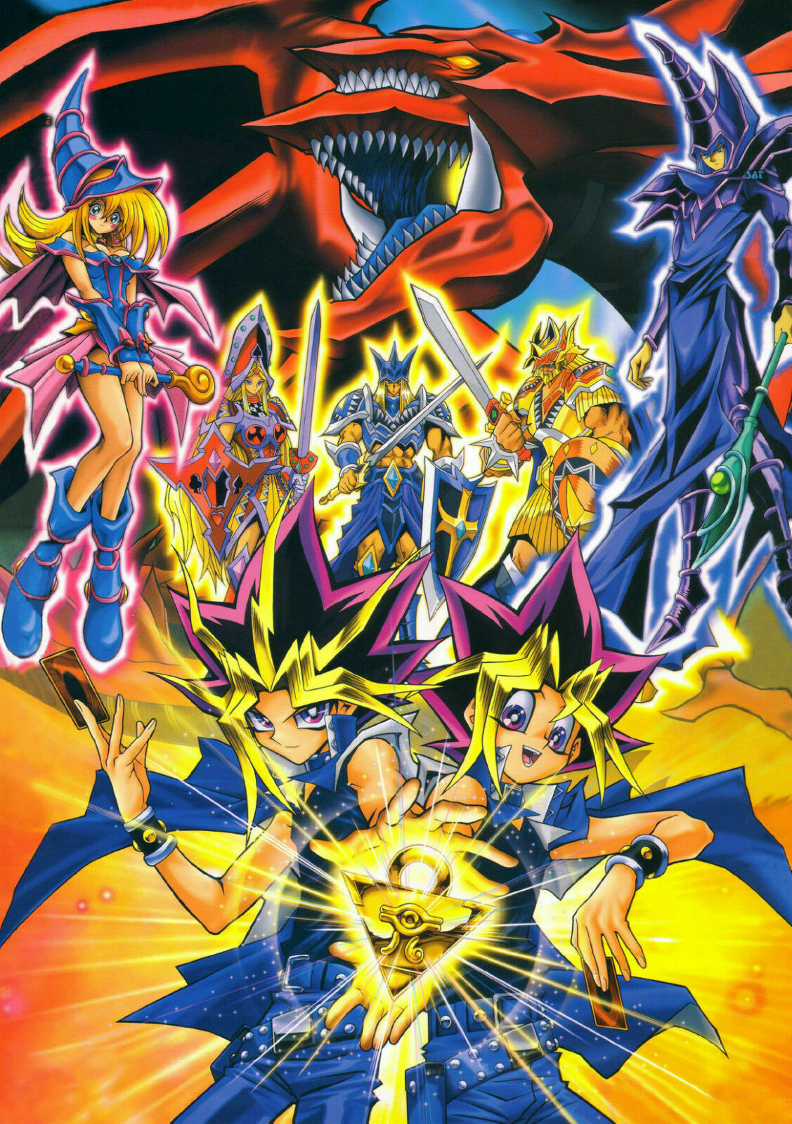 218821 Yugioh Anime Decor PRINT POSTER CA