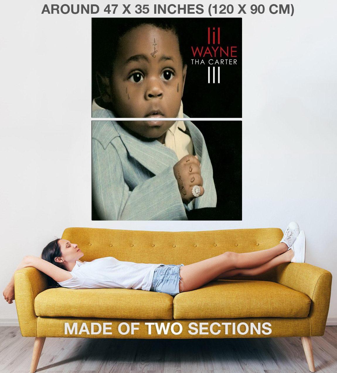Indexbild 5 - 328178 Lil Wayne Tha Carter III Album 2008 Cover PRINT POSTER DE