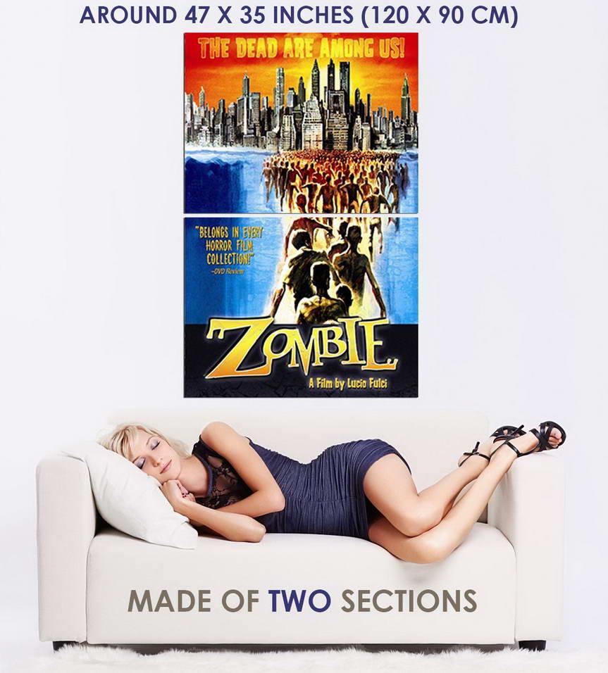 Indexbild 5 - 348670 Zombie movie Lucio Fulci Horror GLOSSY POSTER DE