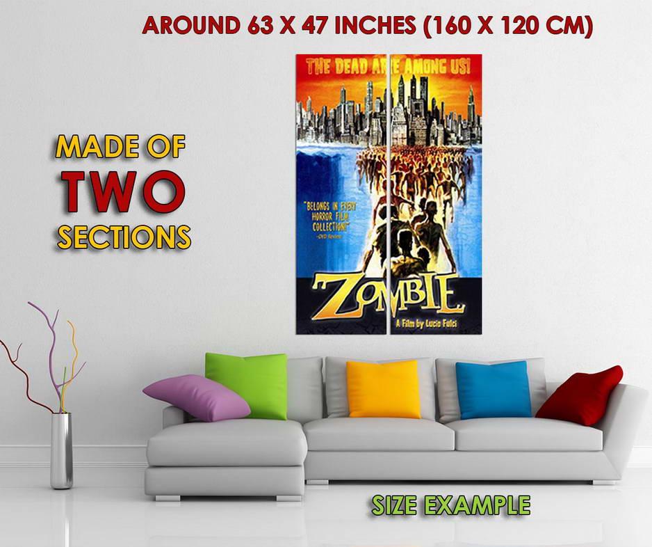 Indexbild 6 - 348670 Zombie movie Lucio Fulci Horror GLOSSY POSTER DE