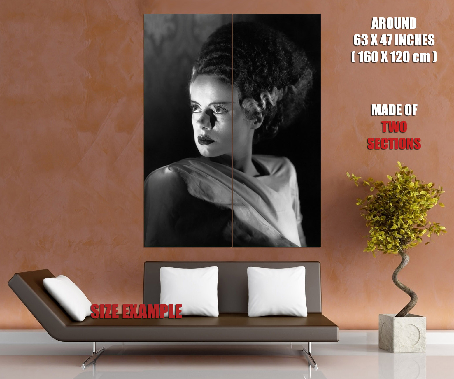 Elsa Lanchester Lanchester Lanchester Actress Bride of Frankenstein Movie Wall Print POSTER US cd6de8