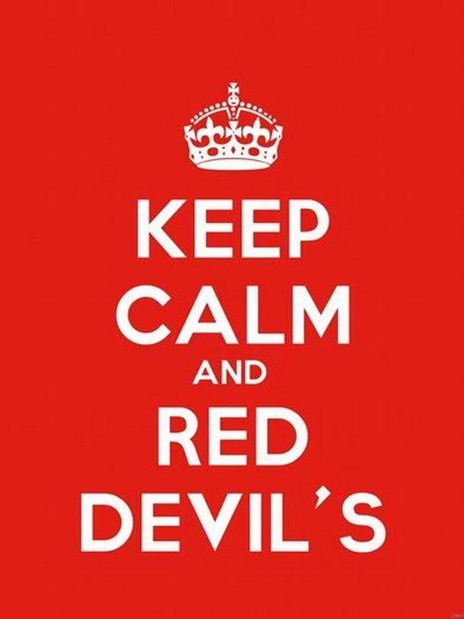 Keep Calm and rosso Devil's Art FRAMED CANVAS PRINT PRINT PRINT DE 6e6ac7