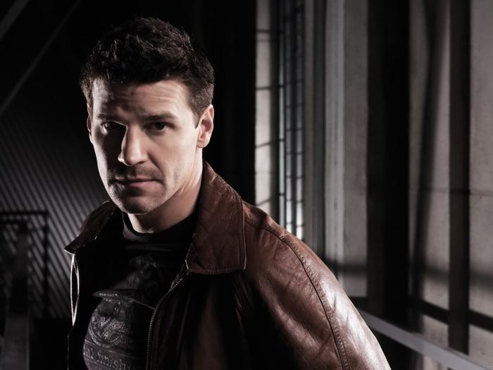 C2377 David Boreanaz Actor Special Agent Seeley Stiefelh FRAMED CANVAS PRINT FR