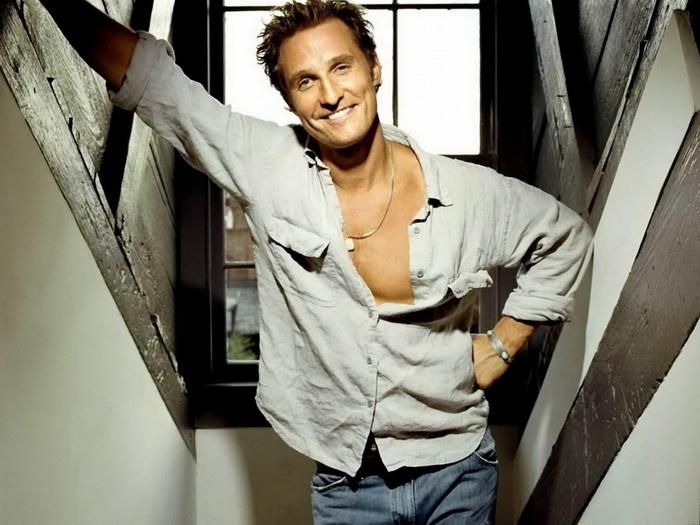 C3243 Matthew McConaughey Hot Actor FRAMED CANVAS PRINT FR FR FR 2bc09b
