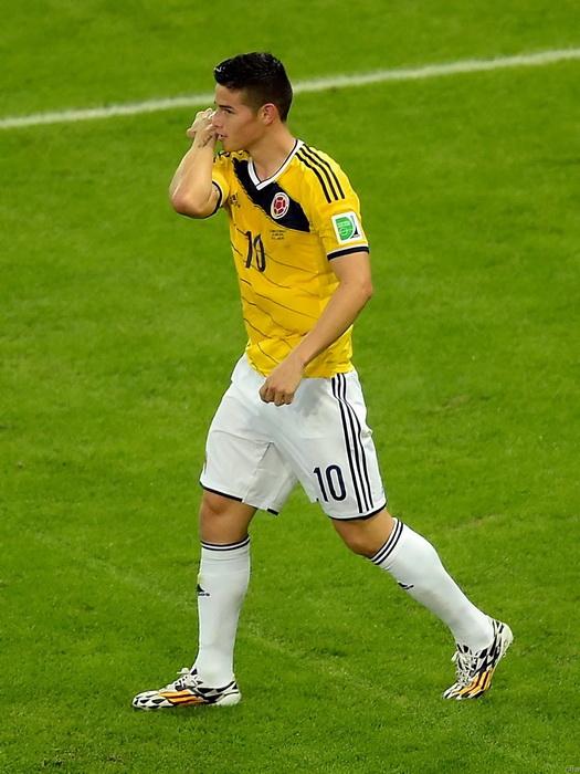 C4135 James Rodriguez Colombian footballer footballer footballer Sport Wall Print POSTER US 14d592