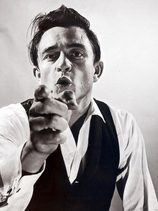 C4580 Johnny Cash Legend Singer Music FRAMED CANVAS PRINT UK | eBay