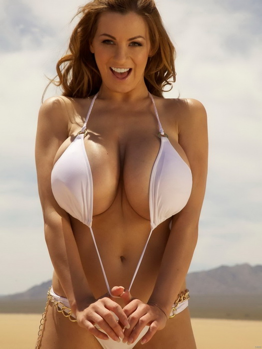 Jordan Carver Big Boobs Fashion Model Wall Print