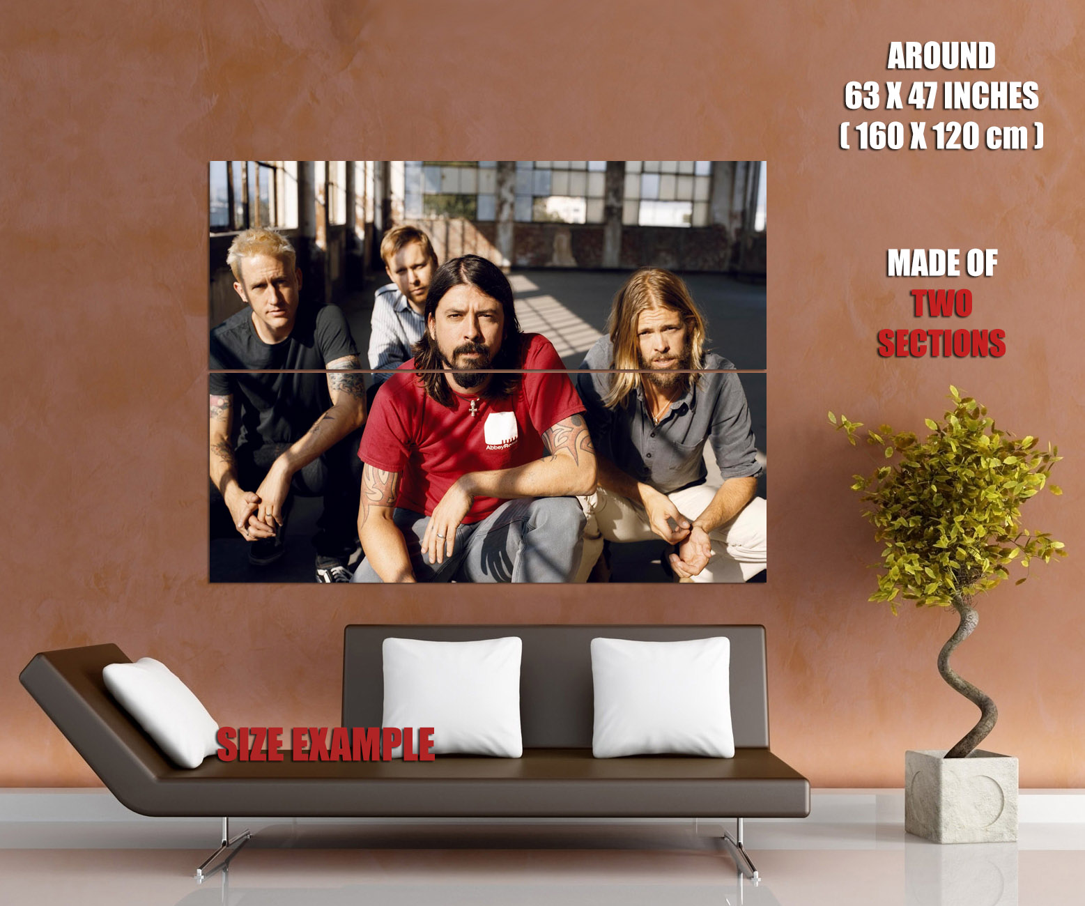 Foo-Fighters-Alternative-Rock-Music-Wall-Print-POSTER-UK thumbnail 6