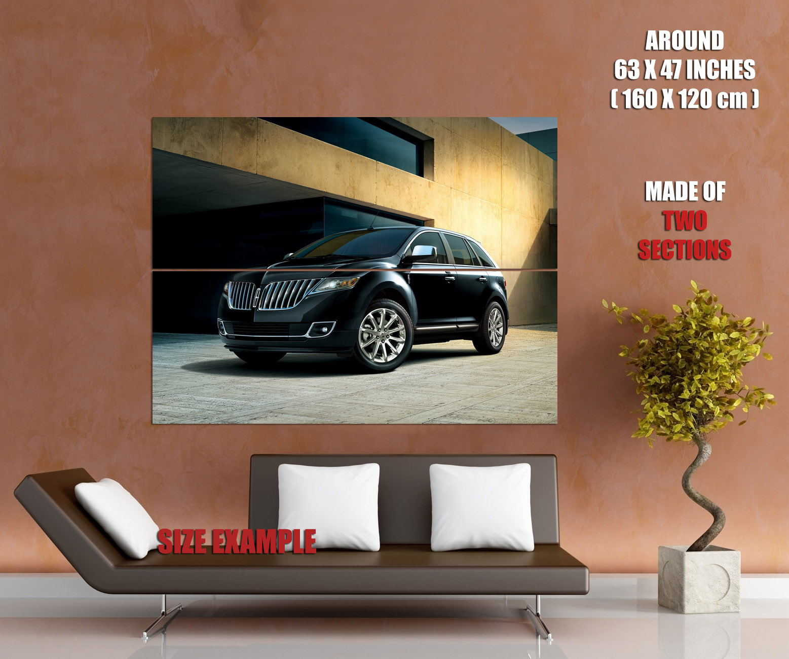 D7970 Lincoln Mkx Luxury Crossover Car Gigantic Print Poster Ebay