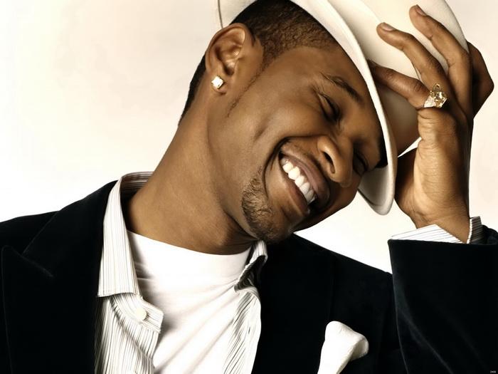 Usher Smile New New New Music FRAMED CANVAS PRINT FR 66ede7
