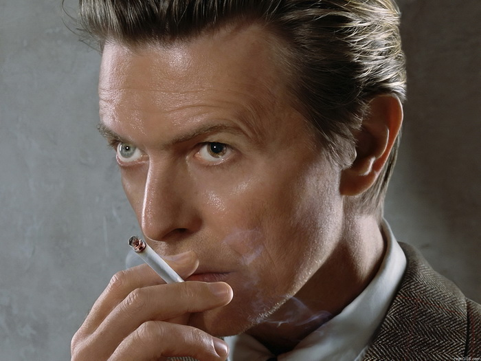 David Bowie Smoking New Wall Print POSTER AU