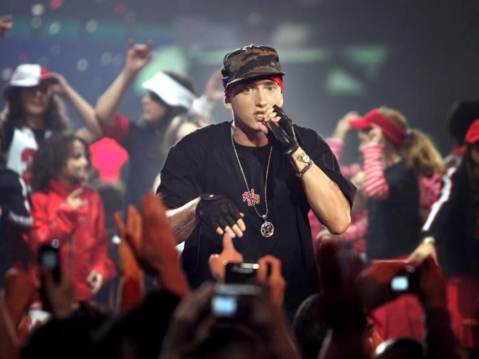 EMINEM Live Hip-Hop Hip-Hop Hip-Hop Rap Music Art FRAMED CANVAS PRINT FR a5fcd8