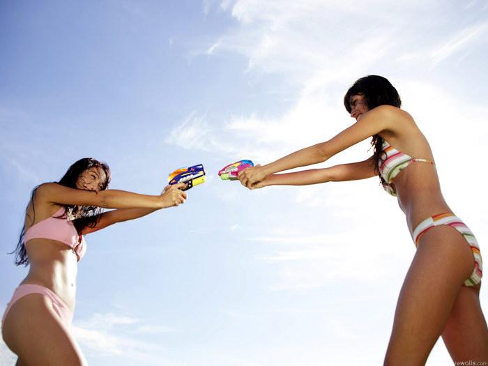Fight black teen girl