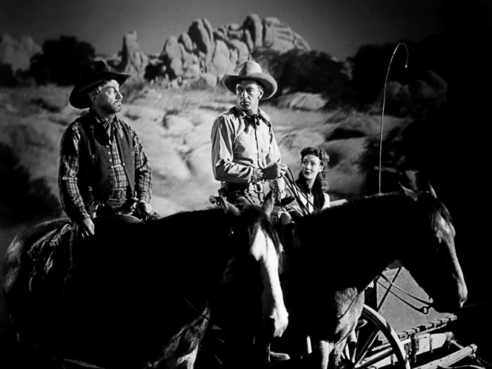 Gary Cooper Western Movie Legendary Actor BW FRAMED CANVAS FR