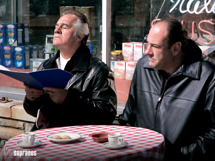 The Sopranos Paulie Gualtieri Tony Sirico James Gandolfini FRAMED CANVAS FR