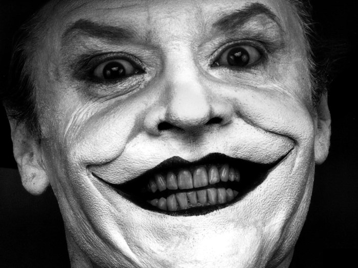 d7817 joker jack nicholson batman bw movie gigantic print poster ebay