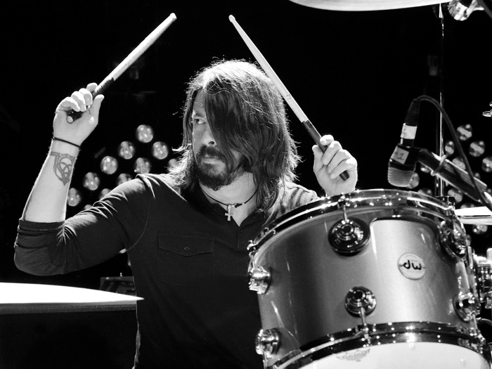 Dave-Grohl-Foo-Fighters-Drums-Music-Wall-Print-POSTER-UK