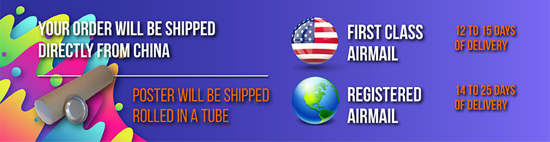 We ship to WORLDWIDE.