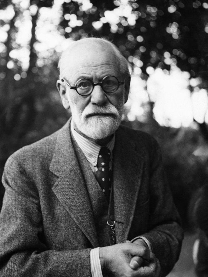 G8506 Sigmund Freud Vintage Old Photo Wand Drucken POSTER CA