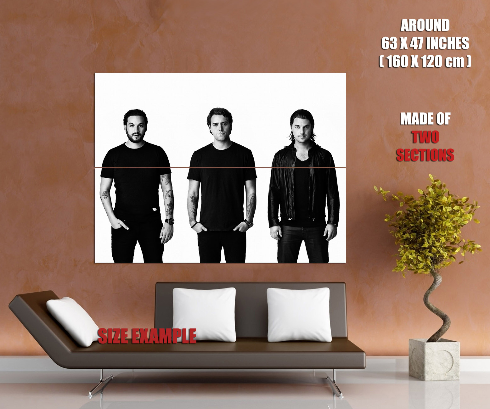 SHM-Swedish-House-Mafia-electronic-dance-music-Wall-Print-POSTER-FR miniature 6