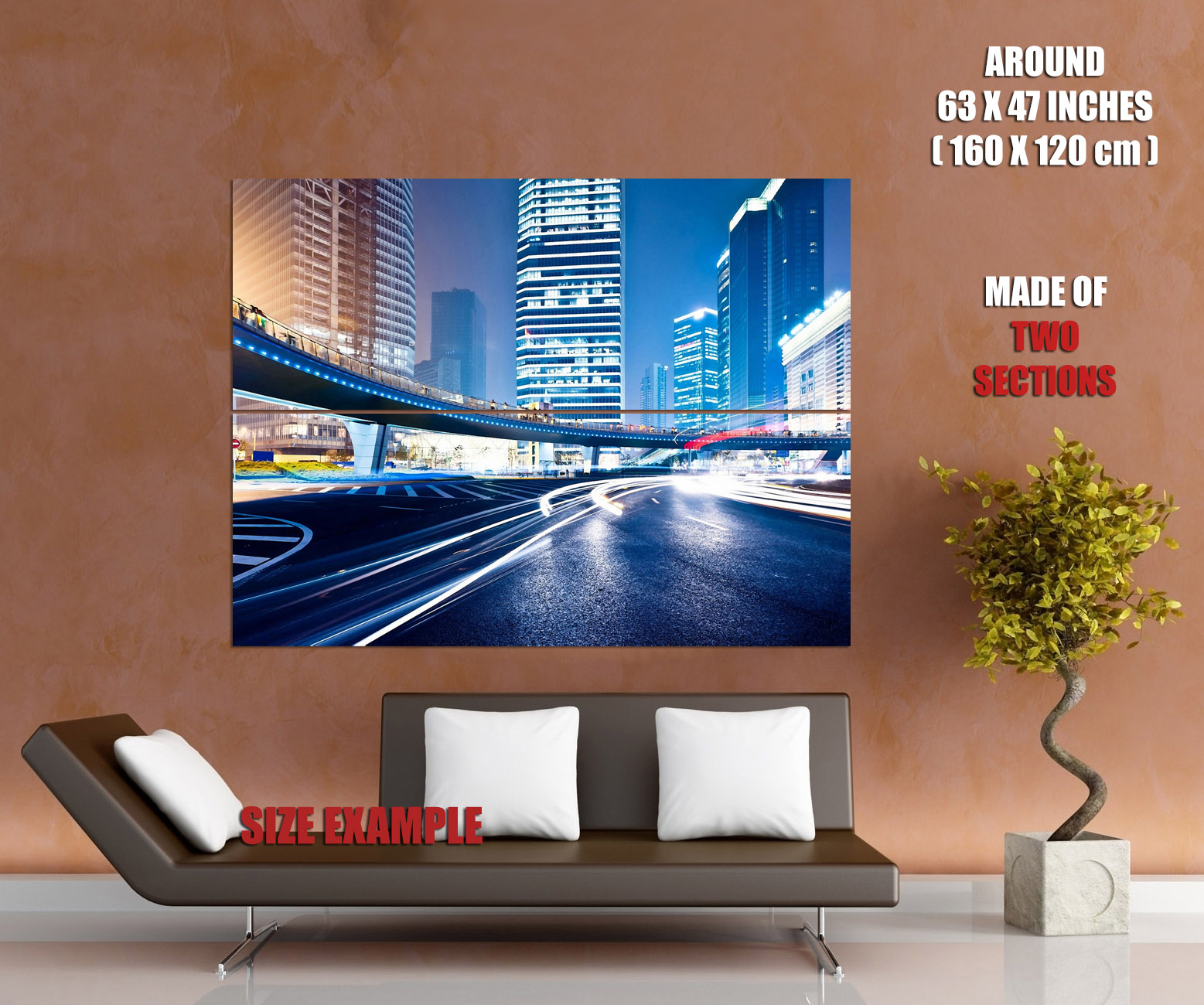 Awesome-Timelapse-City-Megapolis-Traffic-Lights-Road-Wall-Print-POSTER-AU