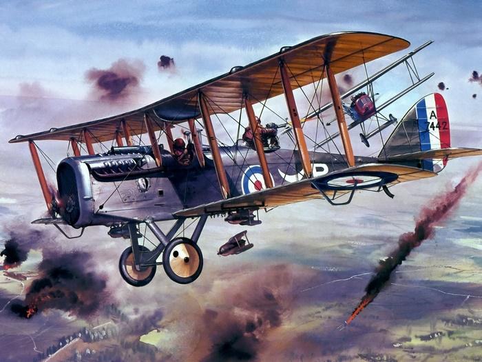Fantastic-Military-Aviation-War-World-AirCraft-Plane-Wall-Print-POSTER-UK