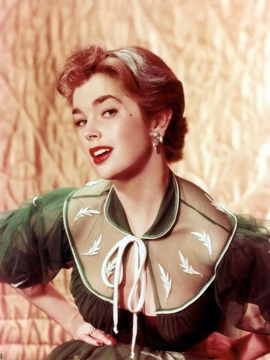 Dawn Addams Vintage Actress FRAMED FRAMED FRAMED CANVAS PRINT DE 09630f