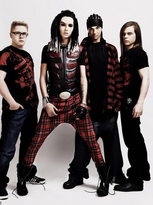 Tokio Hotel Photo FRAMED CANVAS PRINT DE