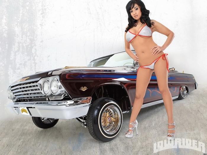 Sexy lowrider models