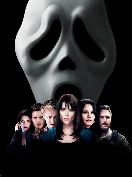 Scream 4 Cast Movie Wall Print POSTER CA