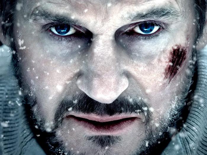 Liam Neeson Neeson Neeson grigio Movie Actor FRAMED CANVAS PRINT FR 92840b