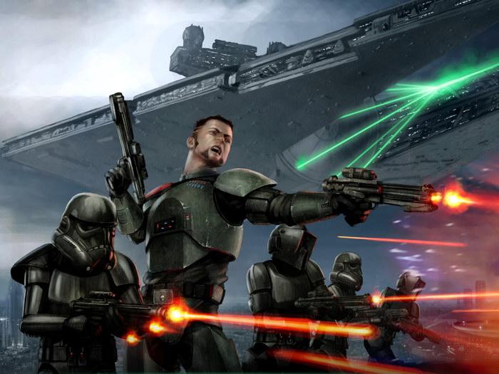 Stormtroopers Battle Star Wars Art FRAMED CANVAS CANVAS CANVAS PRINT DE 111c8f