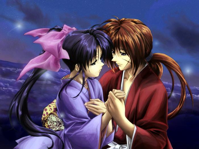 rurouni kenshin kamiya kaoru anime art wall print poster uk ebay