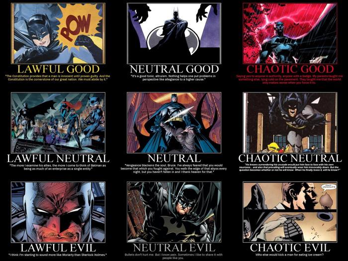 Batman Alignment DC Comics Art Wall Print POSTER CA