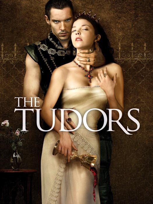 The Tudors Natalie Dormer Jonathan Meyers FRAMED CANVAS PRINT FR