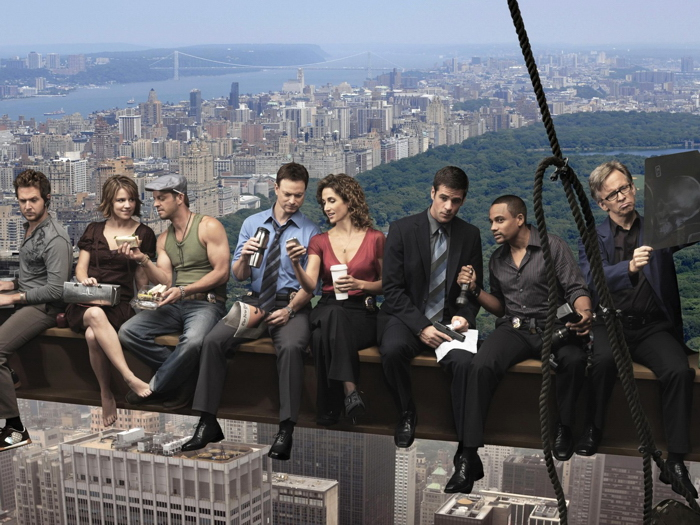 CSI New York Skyscraper TV Wall Print POSTER AU