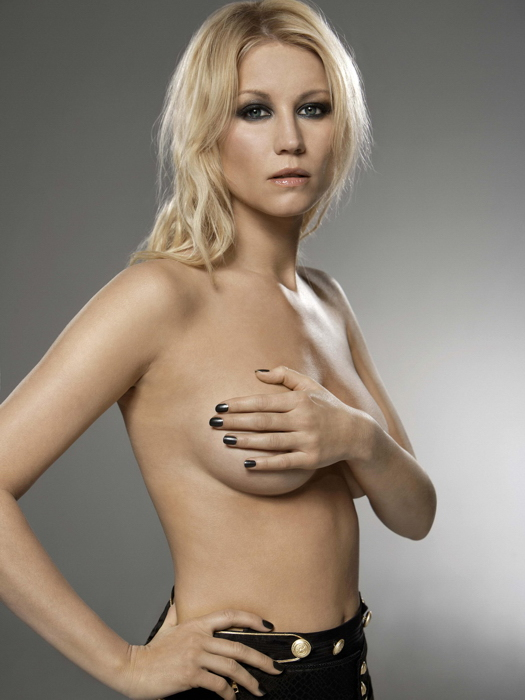 Denise van Outen Outen Outen Topless Hot Actress FRAMED CANVAS PRINT DE 8cb3af