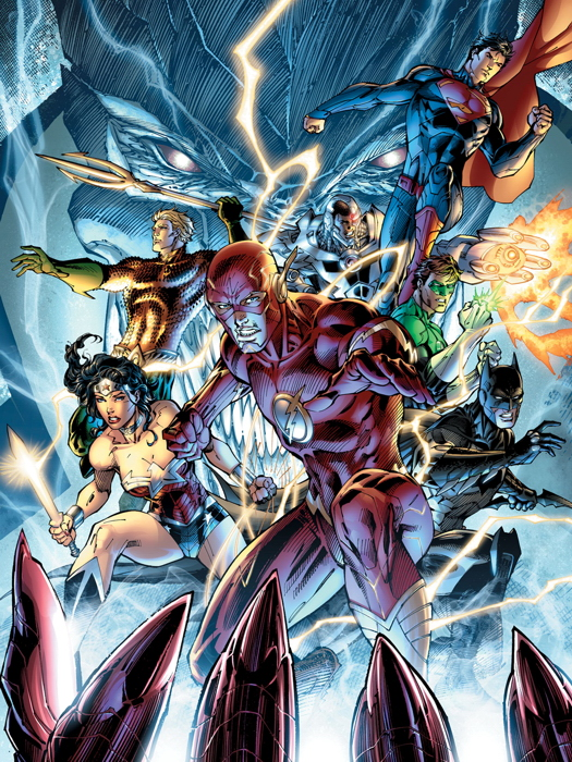 J2611 Justice League Heroes Comic Book Art Wall Print POSTER AU