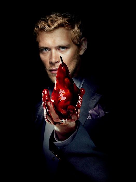 The Vampire Diaries Blood TV Series FRAMED CANVAS PRINT DE