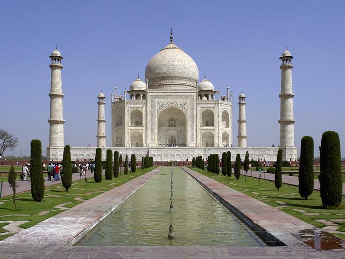 Taj Mahal Palace India Wall Print POSTER AU