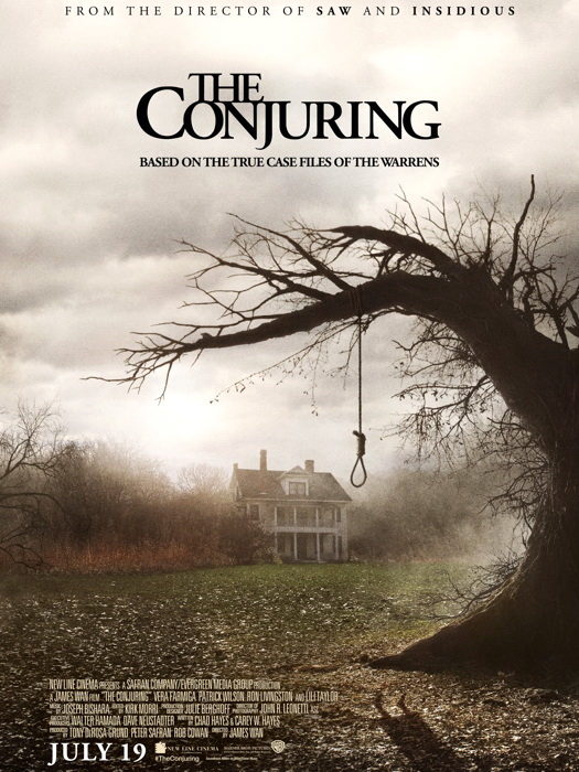 The The The Conjuring Horror Movie 2013 FRAMED CANVAS PRINT FR 32601f