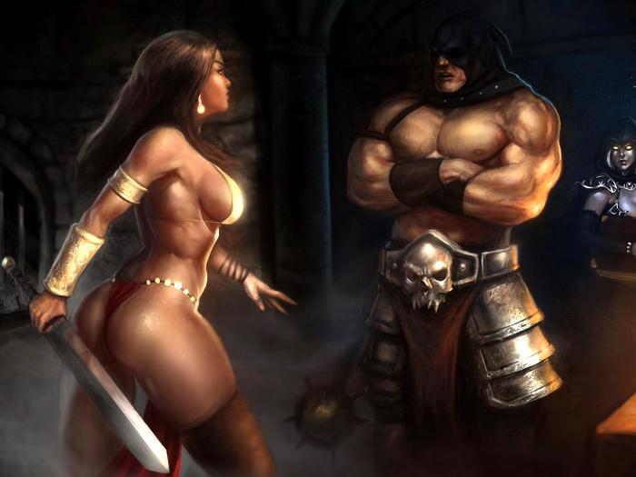 Hot fantasy woman