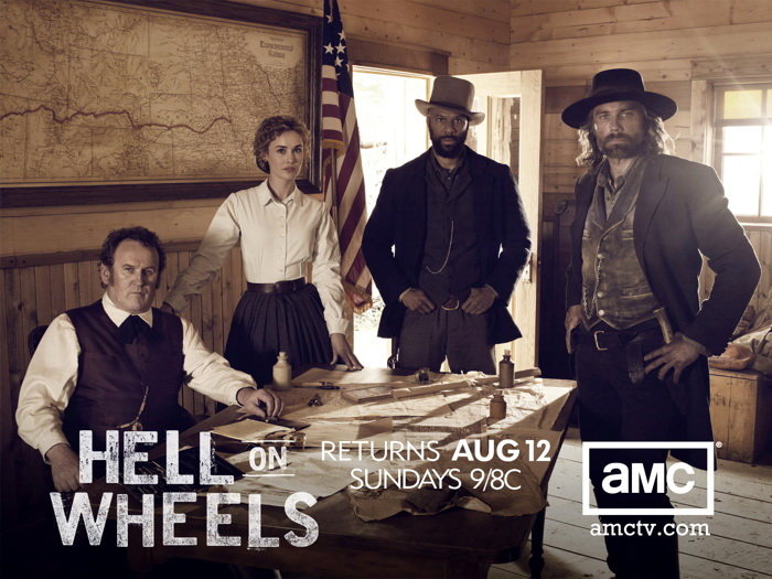 Hell On Wheels Cast Characters TV Series Wall Print POSTER AU