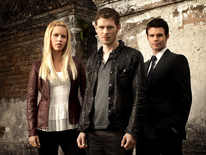 The Originals Klaus Elijah Rebekah TV Series FRAMED CANVAS PRINT FR