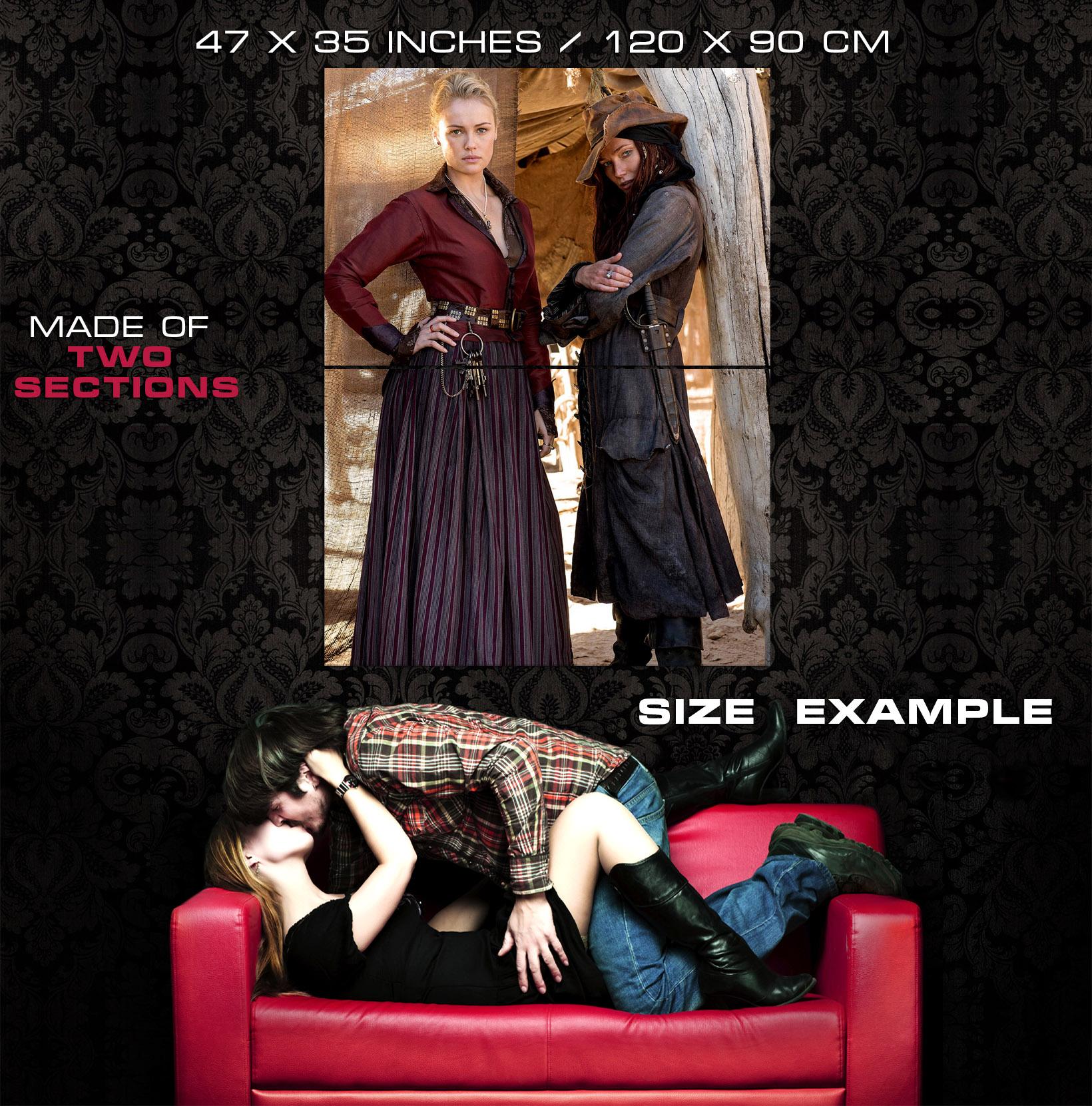 black sails clara paget hannah new tv series huge giant print poster